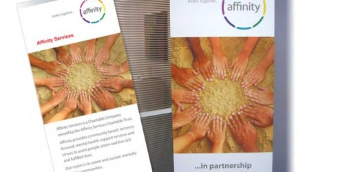 Affinity DL brochure and display banner
