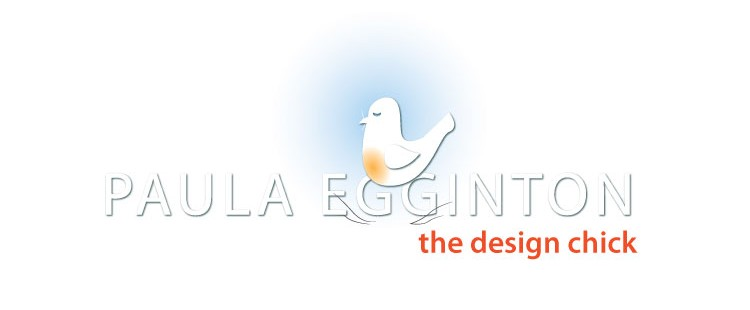 Paula Egginton - the design chick logo