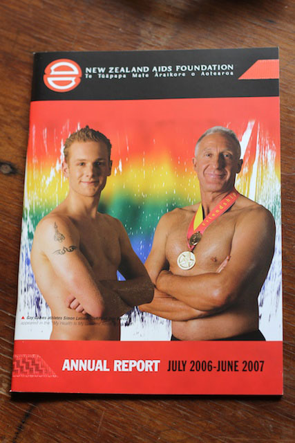 Aids Foundation Annual Report cover