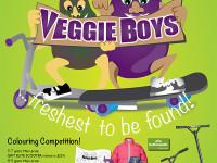 Veggie Boys Poster