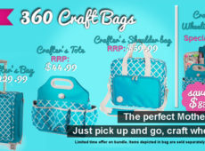 Craft totes web advert