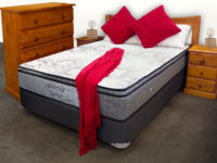 product photography and image editing of bed